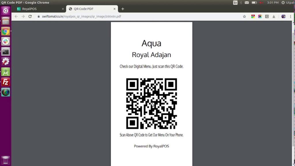 Πως φτιάχνω μενού με qr code για το εστιατόριο μου