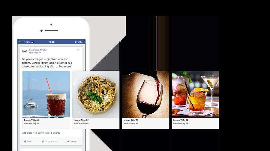 Διαφήμιση στο Facebook για Εστιατόρια