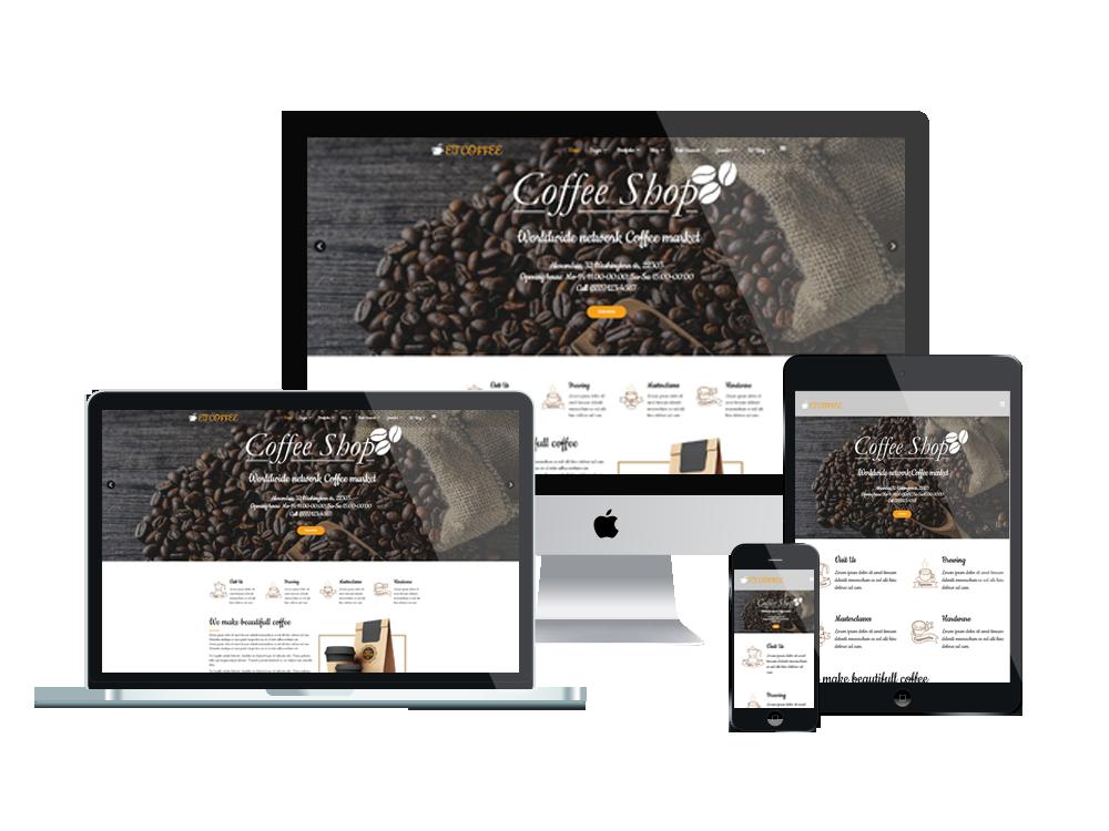 Κατασκευή Ιστοσελίδας για Καφετέρια